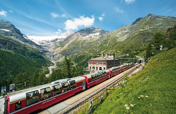 Bernina Express, Alp Grüm